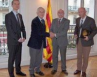 M. Apel-Lez Carod-Rovira délégué spécial de Catalogne
