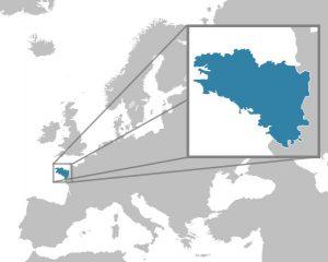 La Bretagne en Europe.